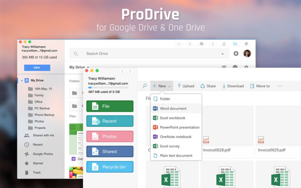 ProDrive for Google & OneDrive for Mac - Download