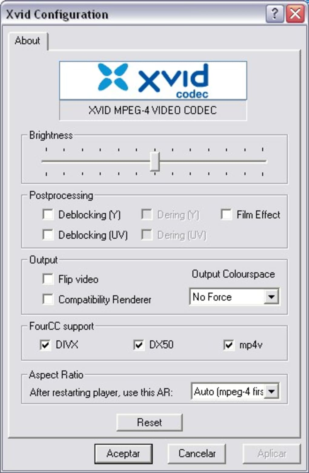 codec dx50 gratis