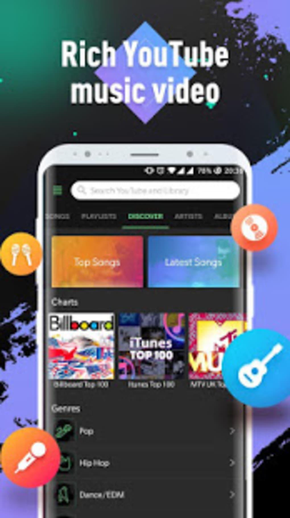 Lark Player YouTube Music Free MP3 Top