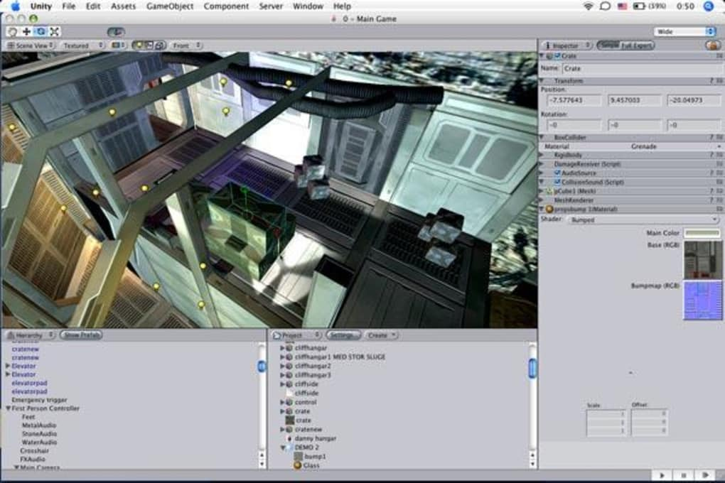 unity game maker download mac
