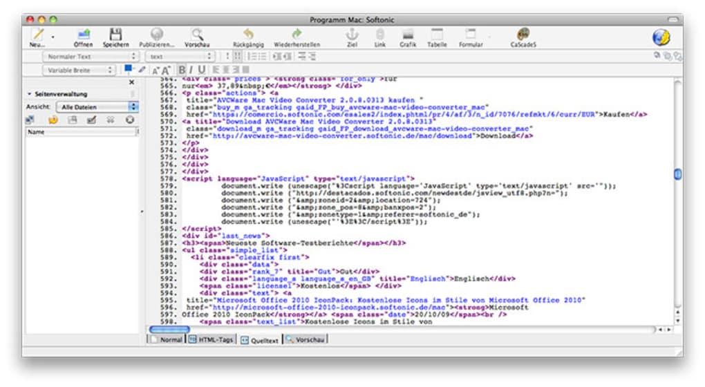 kompozer pour mac