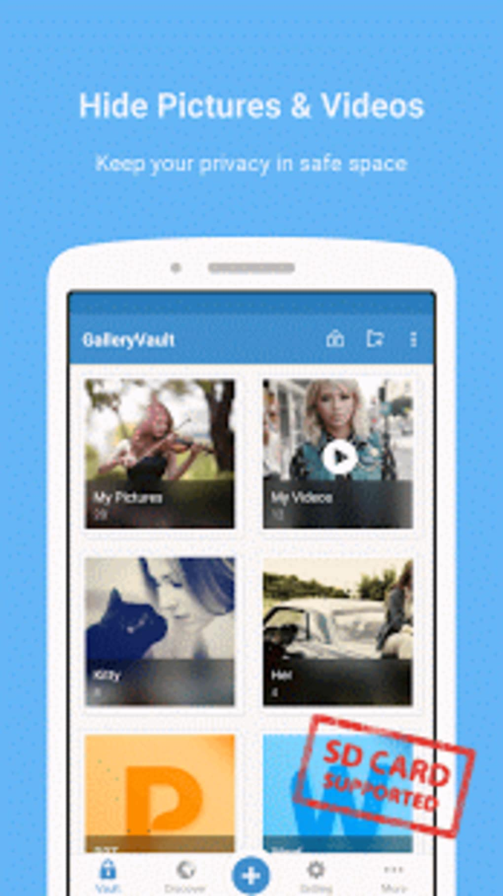 Gallery Vault - Hide Pictures for Android - Download
