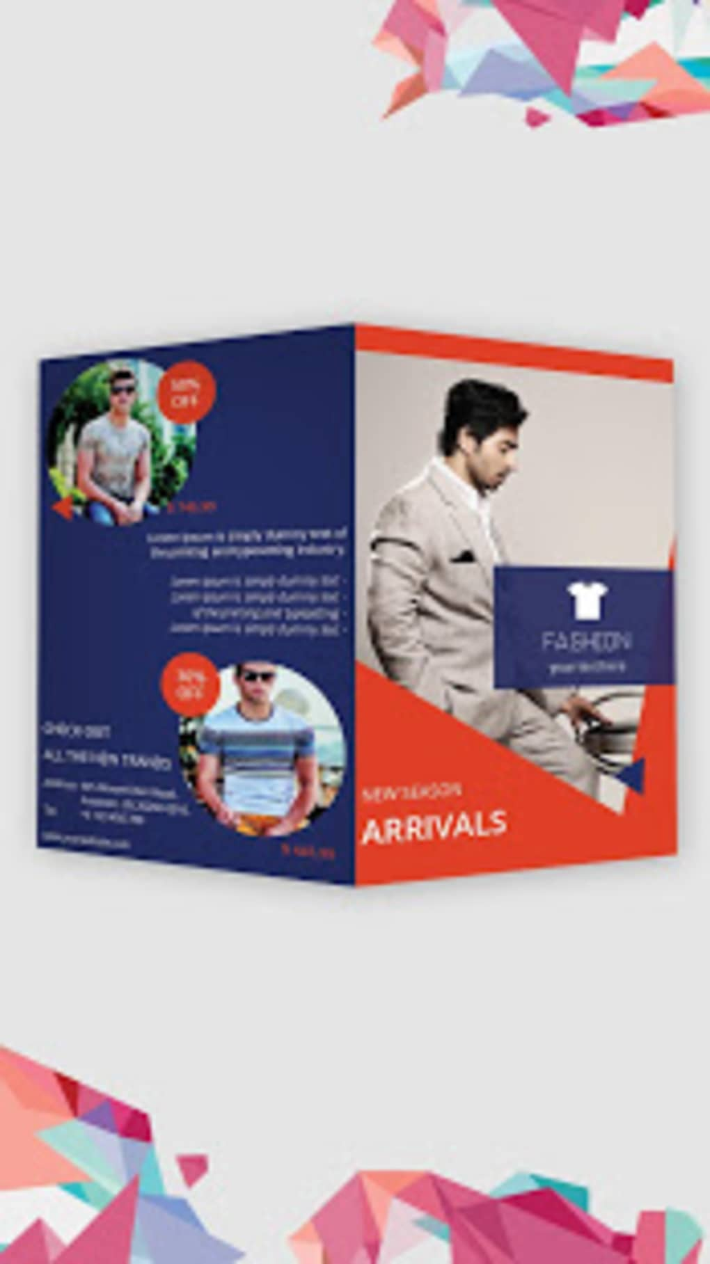 brochure maker flyers poster templates editor for android download