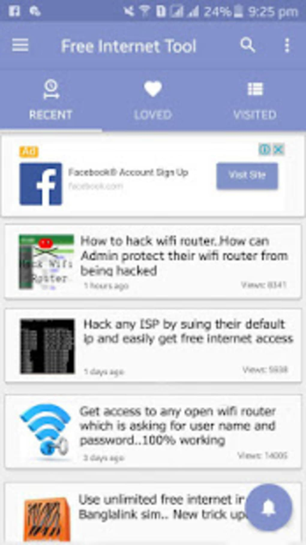 Free Internet Tool 2019 for Android - Download