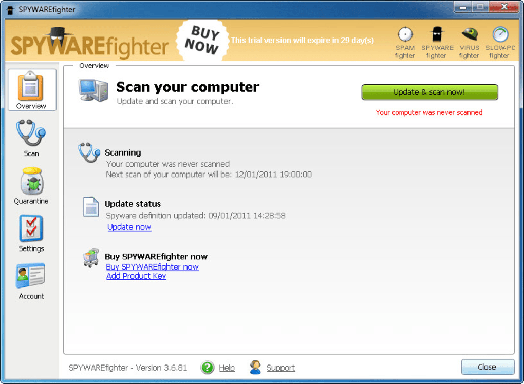 spywarefighter gratis espaol