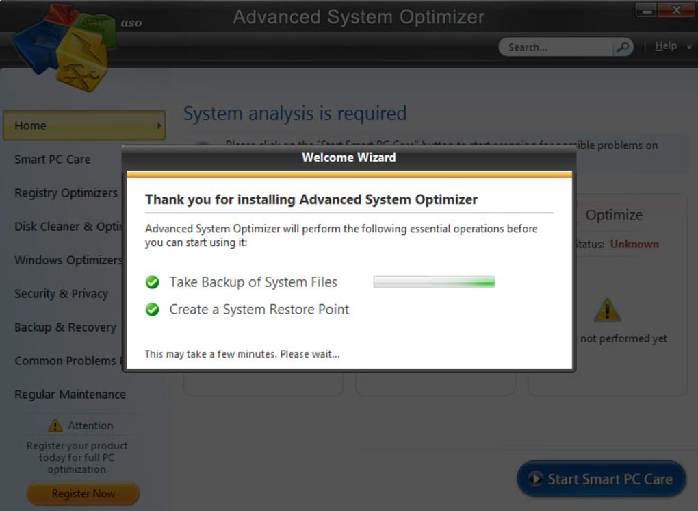 Advanced System Optimizer - Download