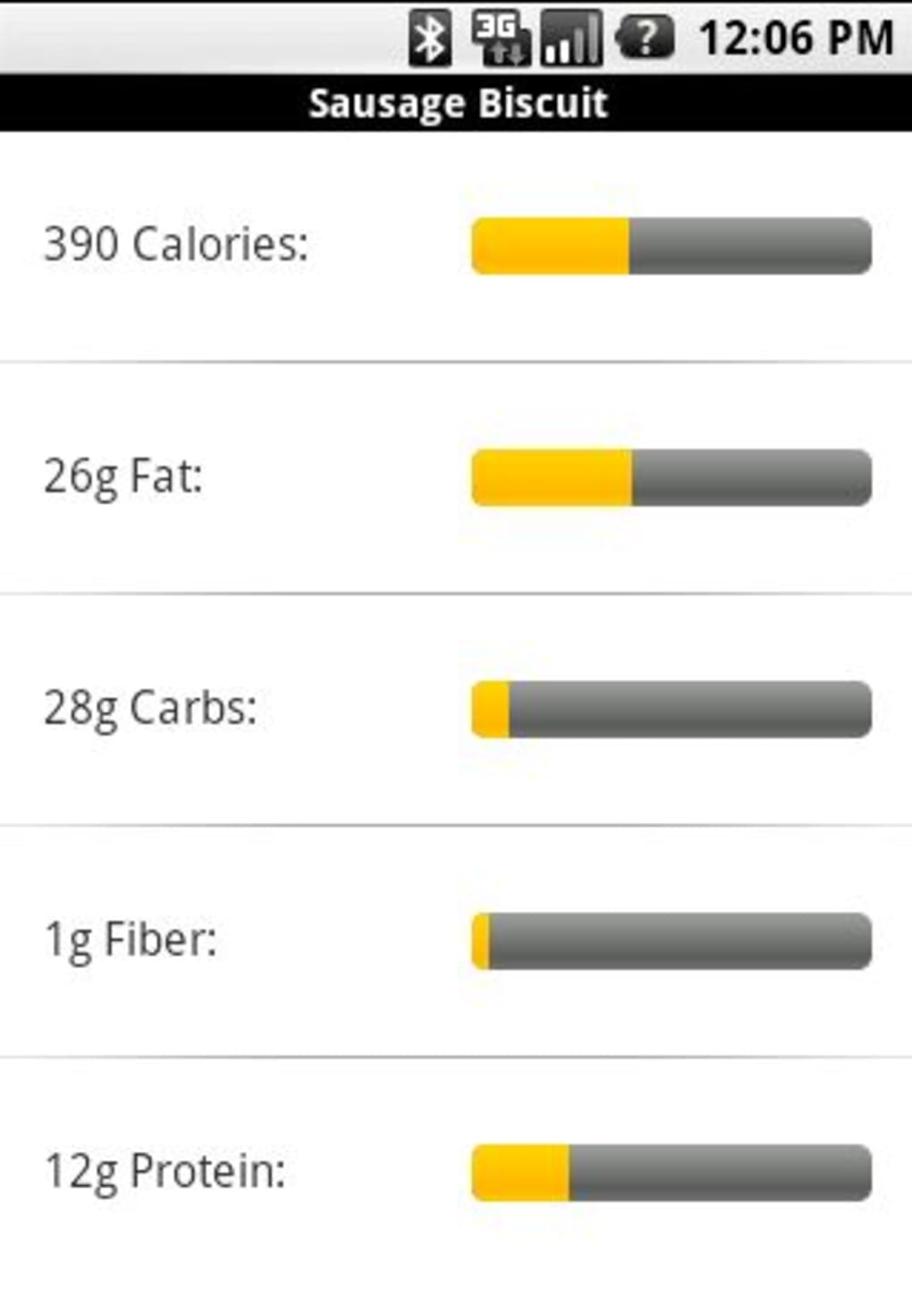 fast food calorie counter for android download