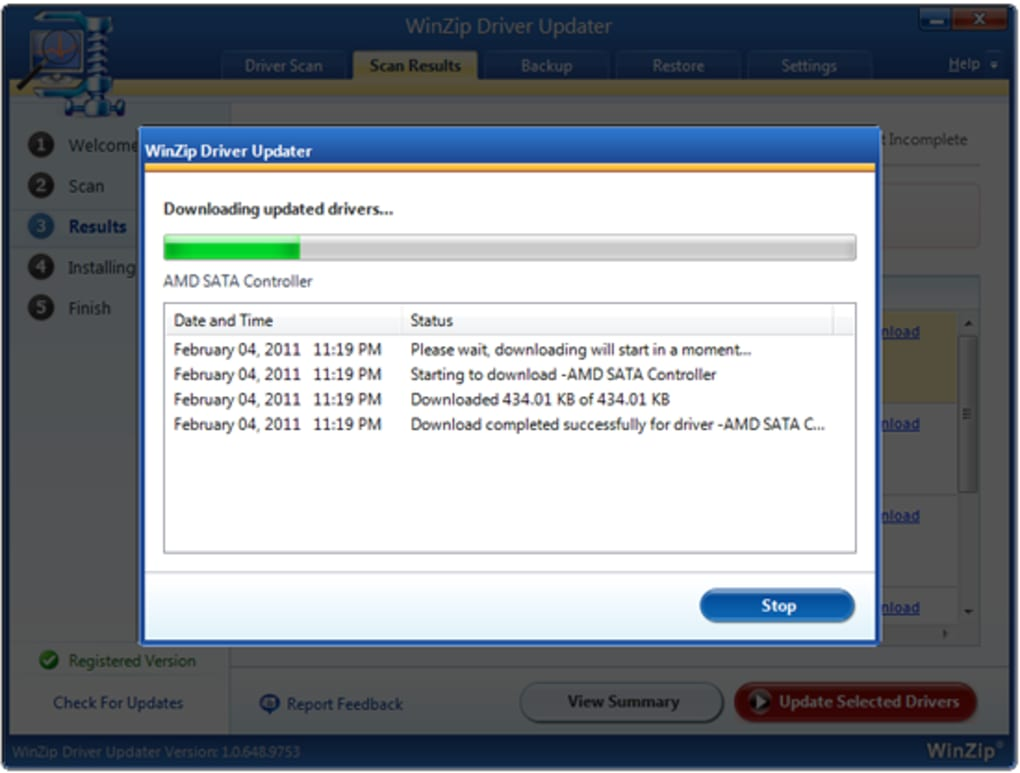 driver updater serial
