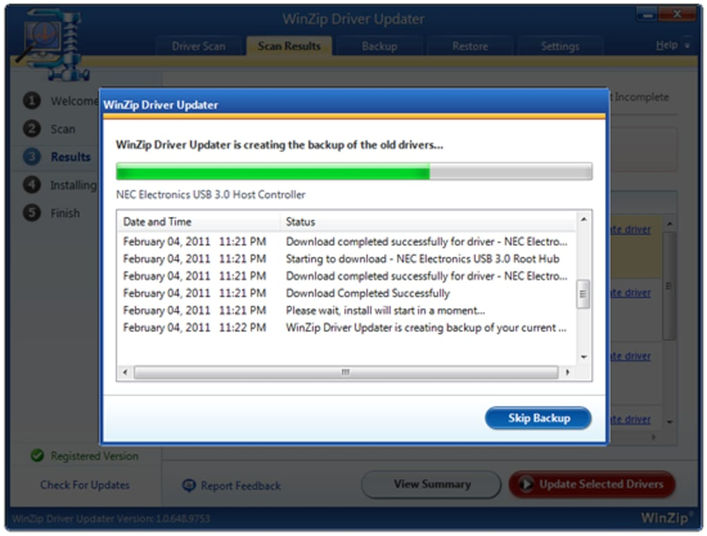Winzip driver updater 5. 27. 0. 26 crack free with activation key new.
