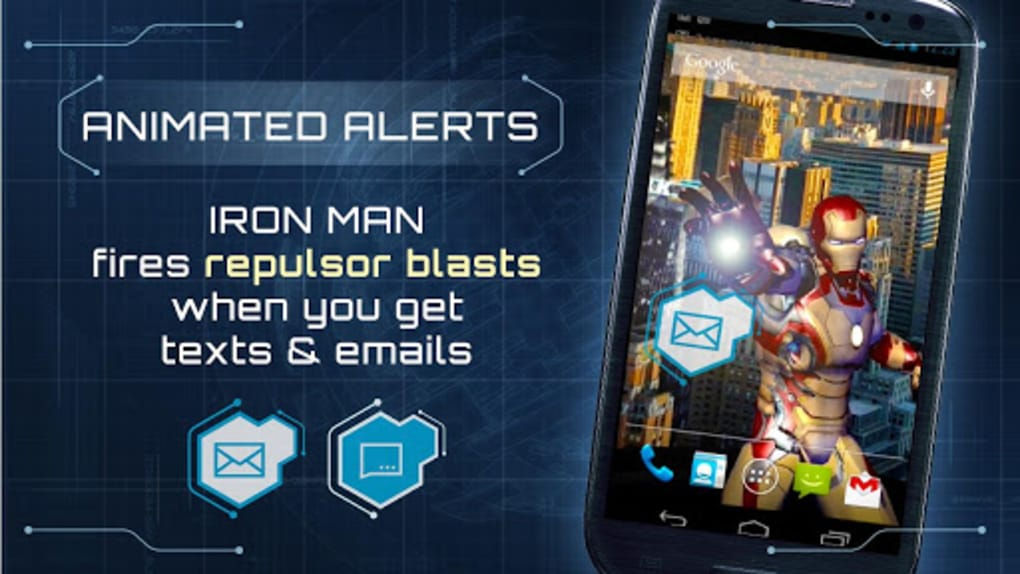 Iron Man 3 Live Wallpaper Pour Android Telecharger