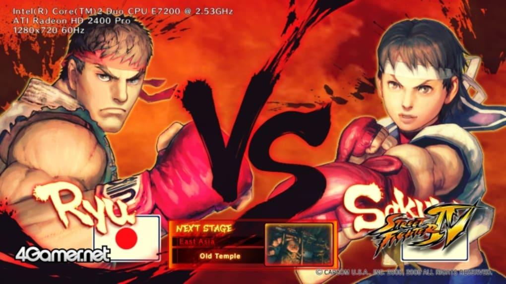 Street Fighter IV Benchmark - Download