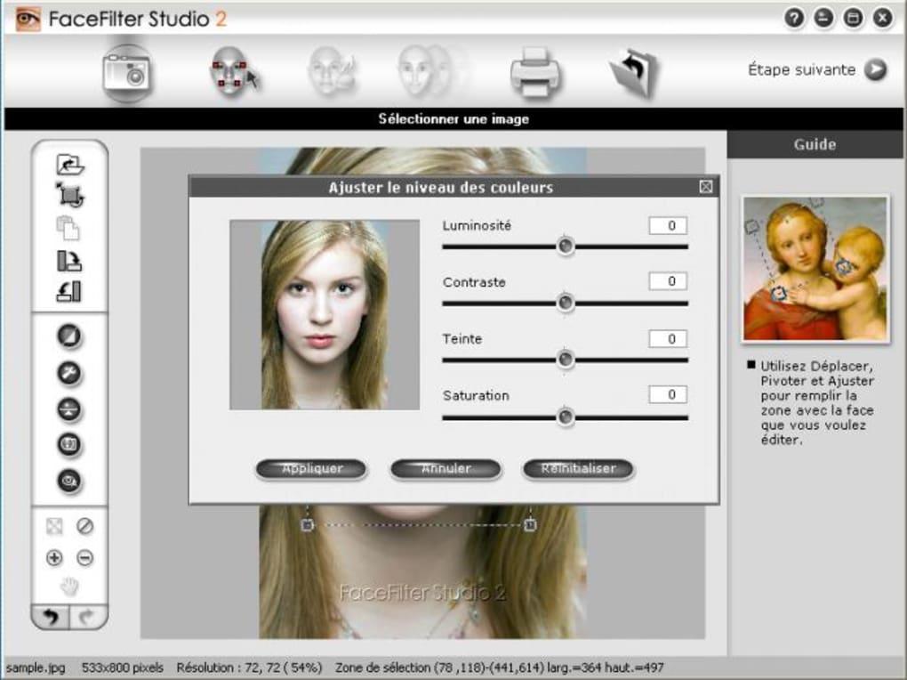 gratuitement facefilter studio