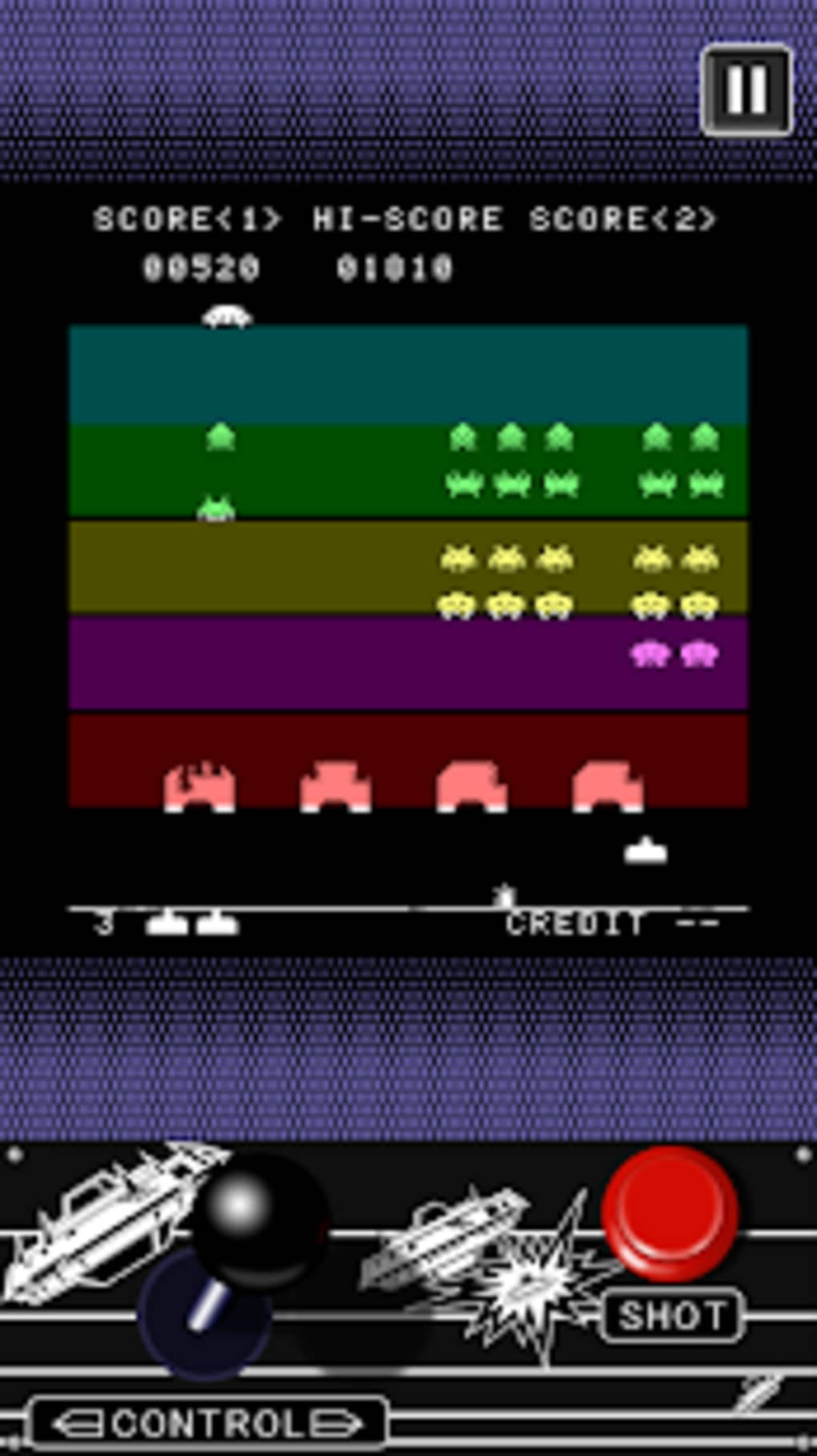 SPACE INVADERS for Android - Download