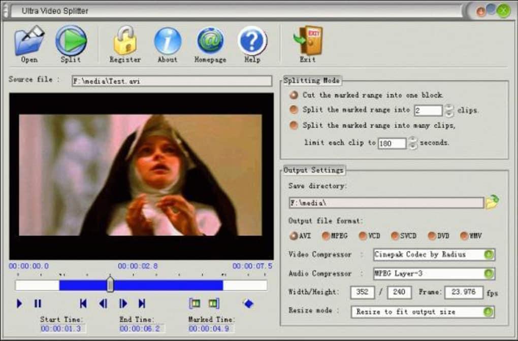5.01 VCD CUTTER ULTRA VIDEO TÉLÉCHARGER DVD FULL SPLITTER