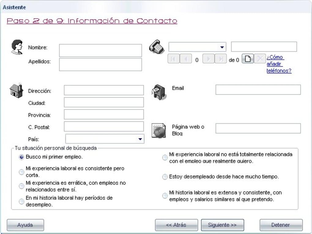 CurrículumFácil - Descargar