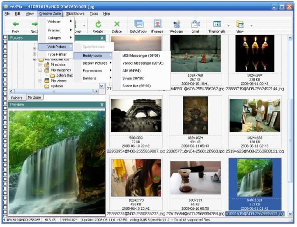 eezpix photo organizer