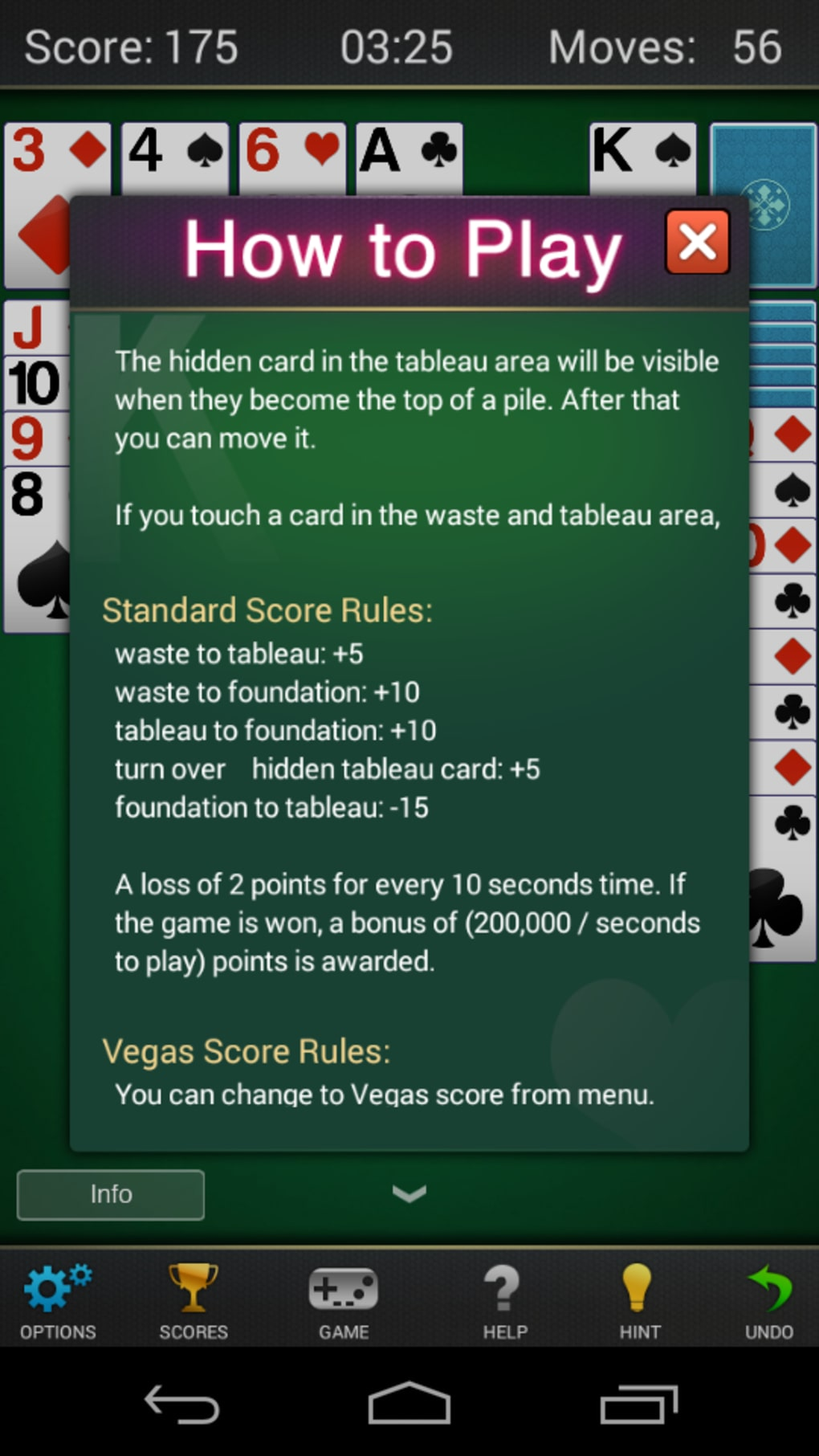 Solitaire Klondike For Android