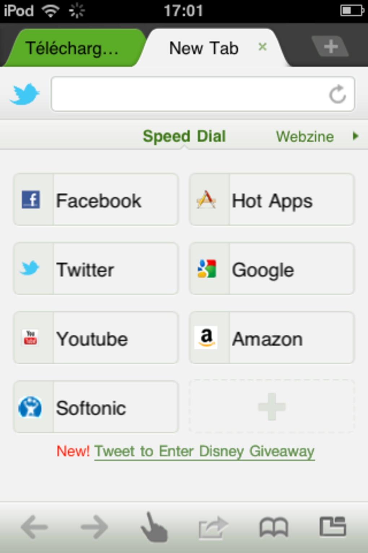Dolphin Browser pour iPhone - Télécharger