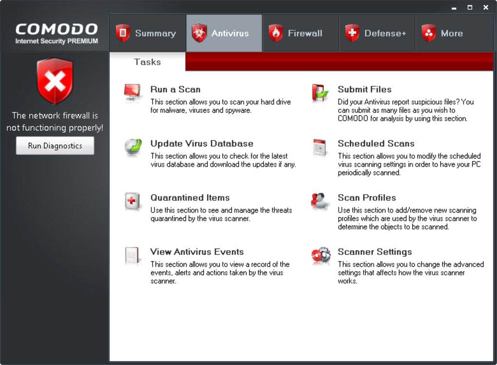 Comodo Internet Security - Download