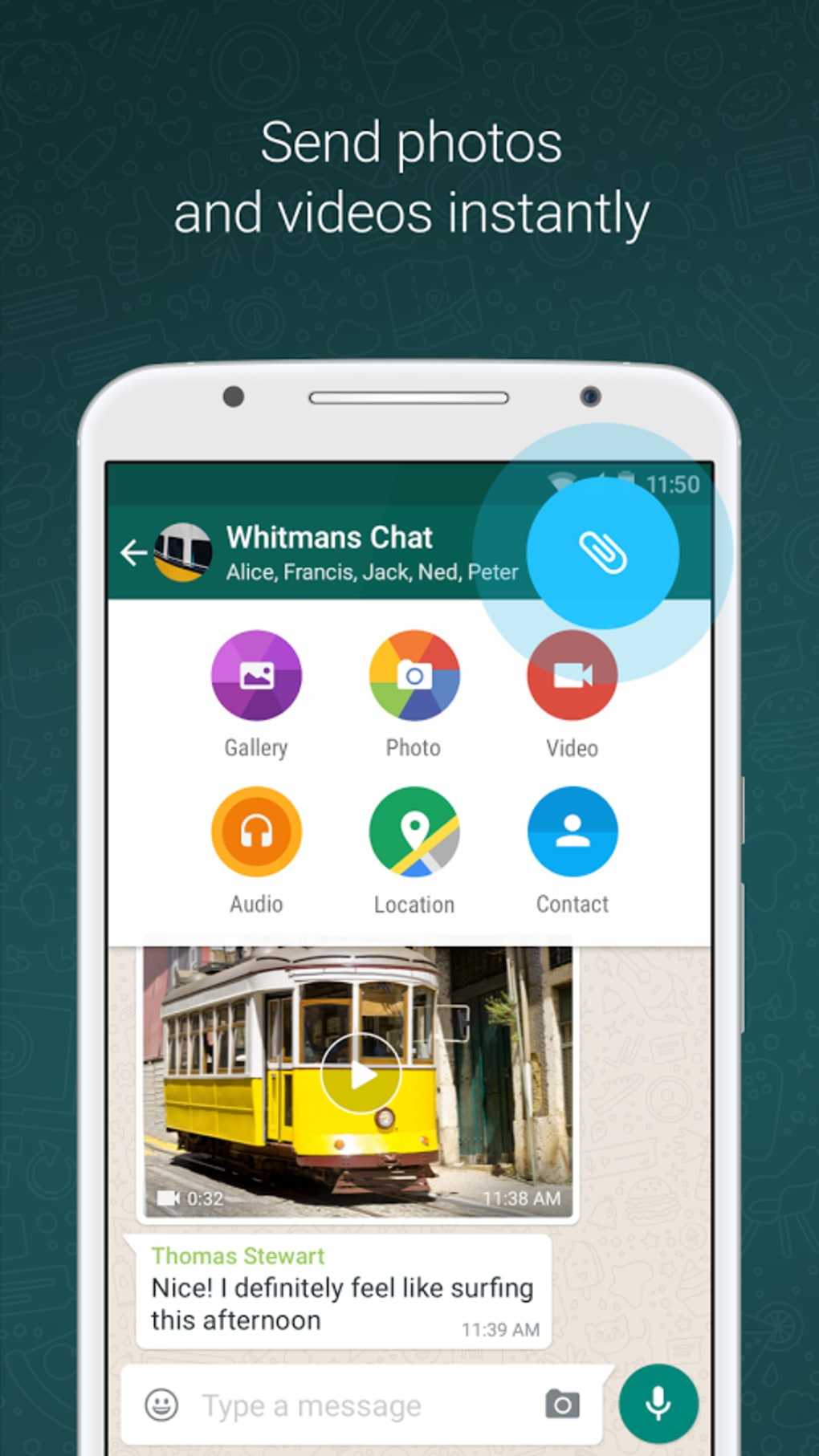 WhatsApp Messenger for Android - Download