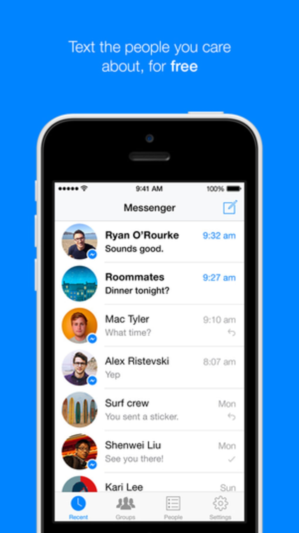 messenger ios 7.1.2