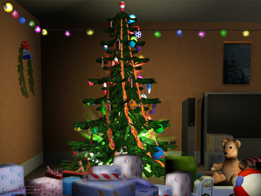 3D Merry Christmas Screensaver - Download