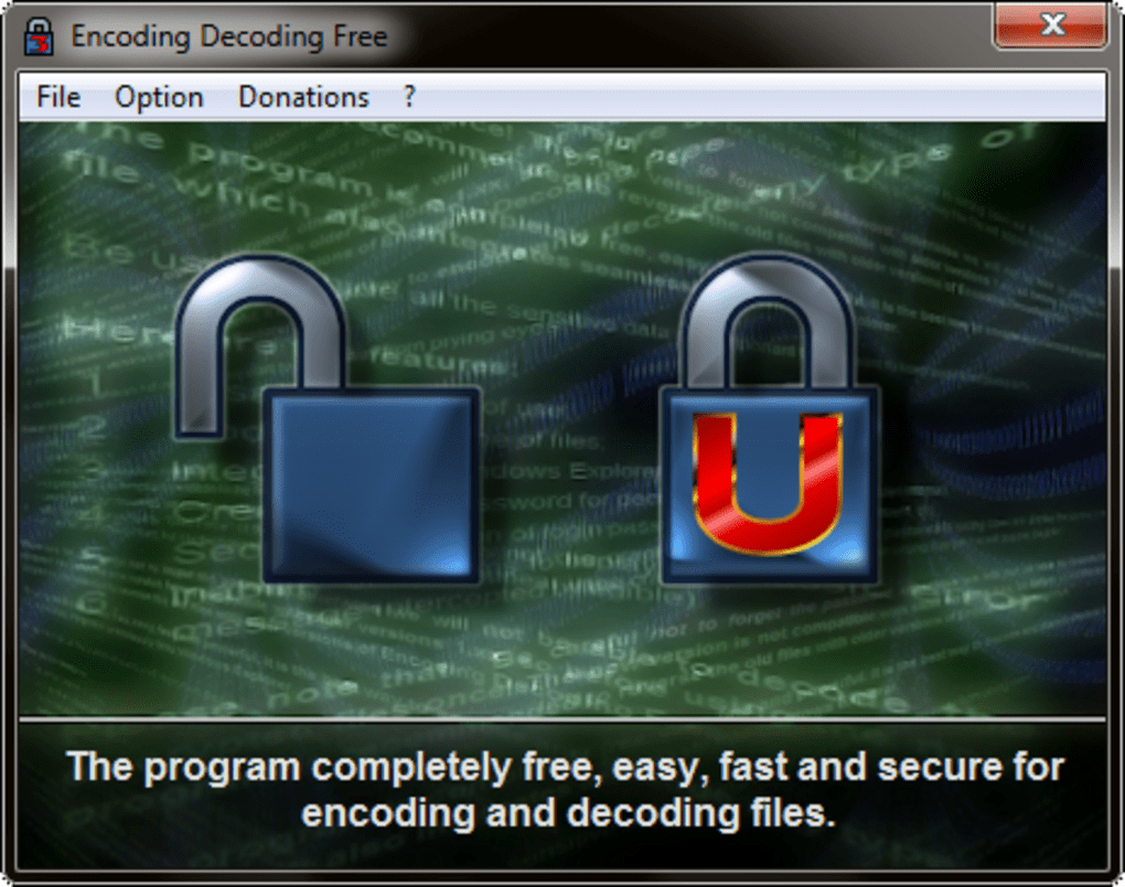 Encoding Decoding Free - Download