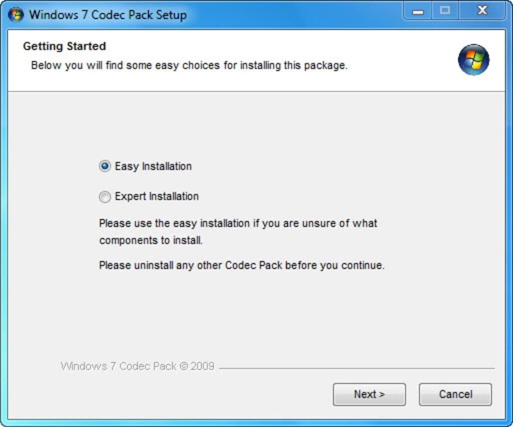 Windows 7 Codec Pack Windows Download