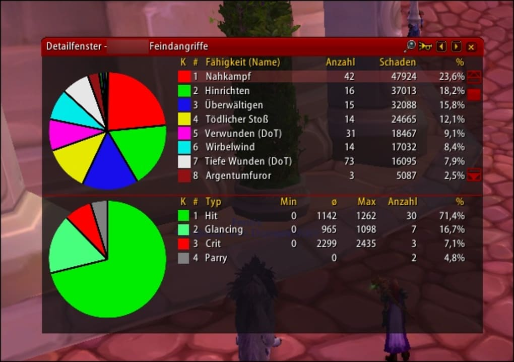 wow addon recount