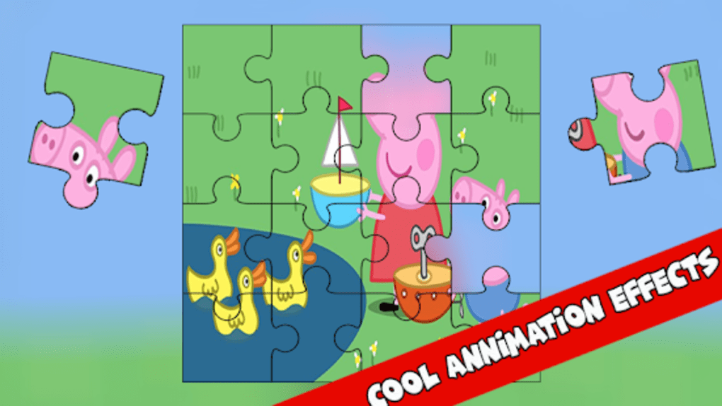 Puzzle For Peppa Pig