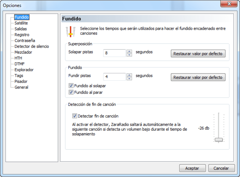 zararadio 2012 para windows 7