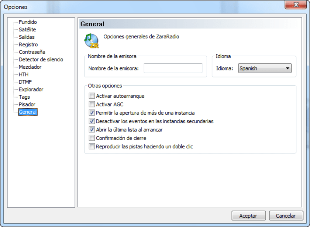 programa zararadio para windows 7