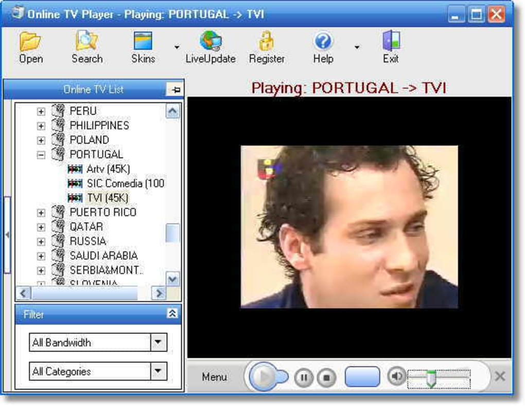 online tv player 5.0.0