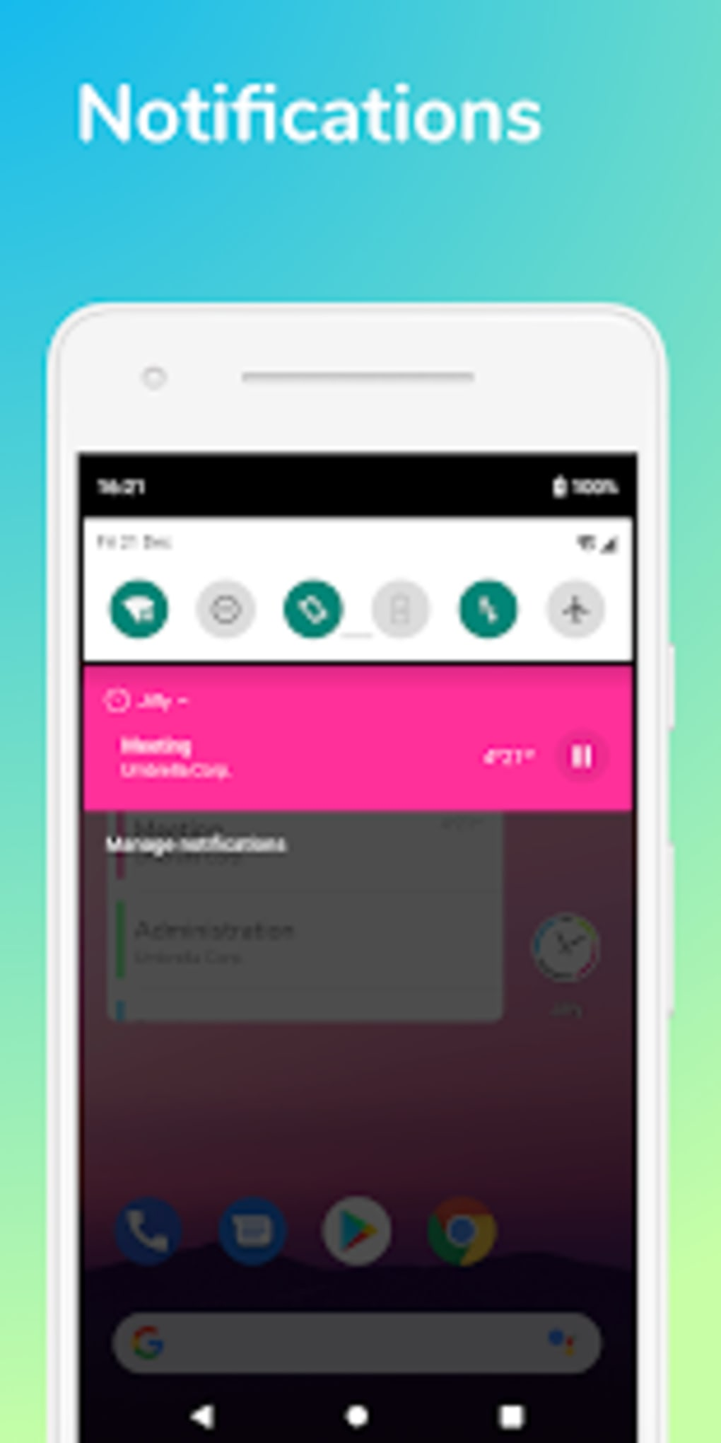 Jiffy - Time tracker for Android - Download