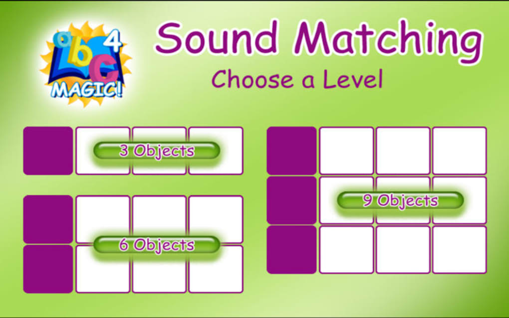 ABC MAGIC 5 Letter Sound Matching for Mac - Download