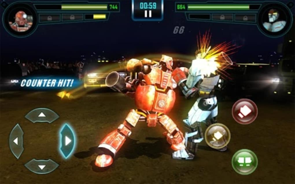 boxing robot game