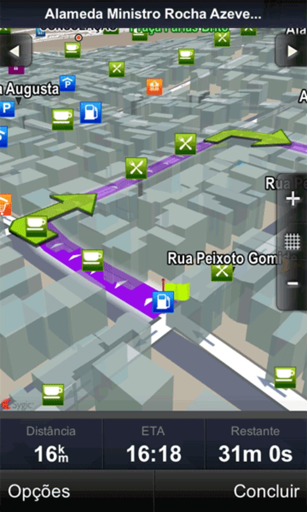 GPS DO BRASIL PARA SYGIC MAPA BAIXAR