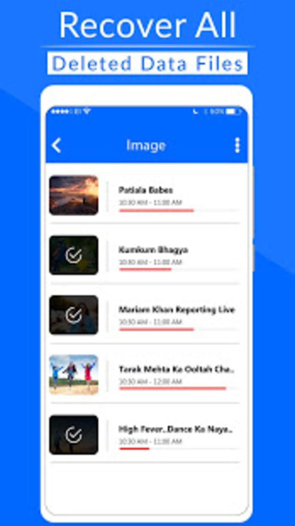 Recover Deleted All Files Photo Video Contacts for Android
