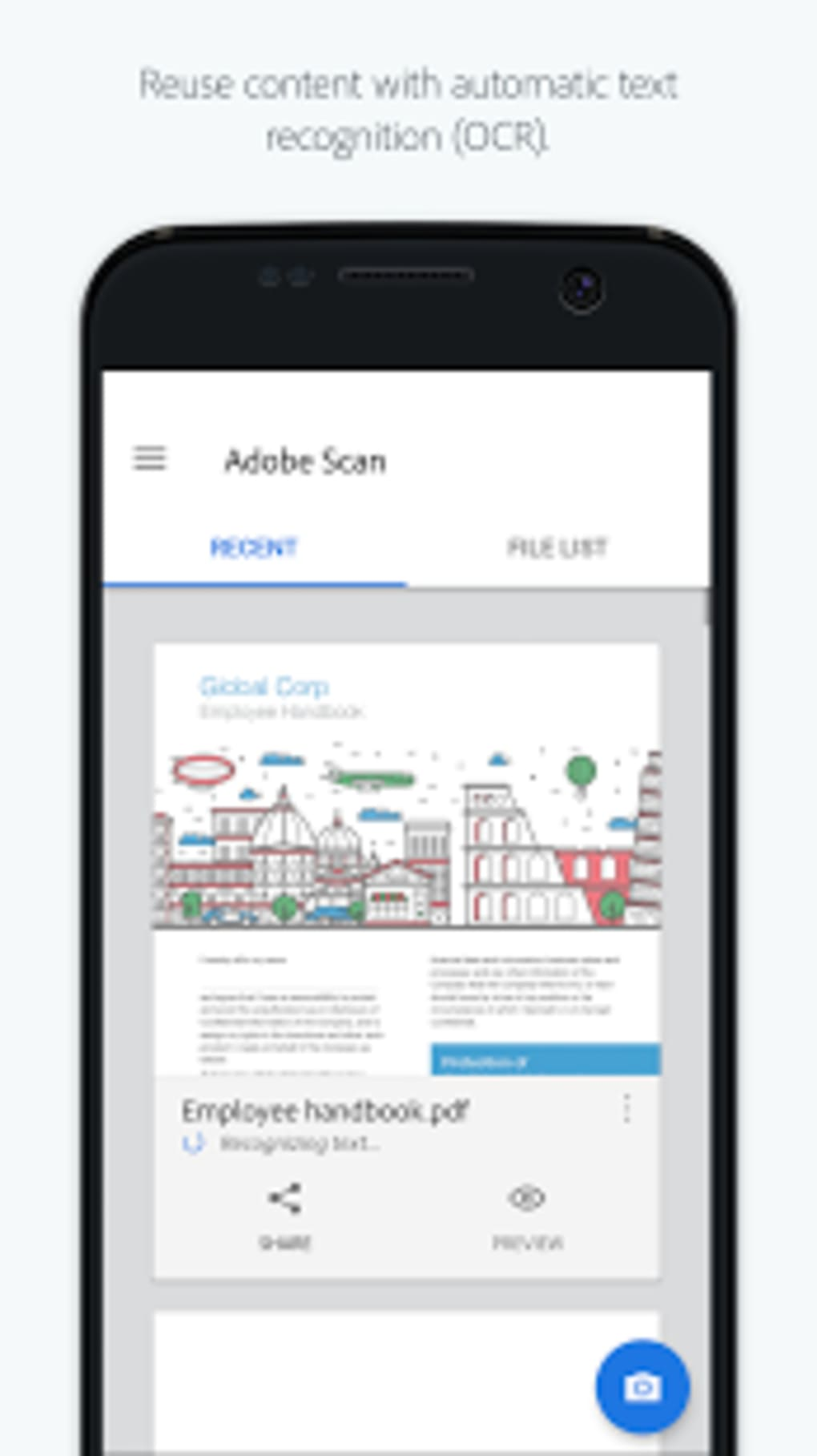 Adobe Scan for Android - Download