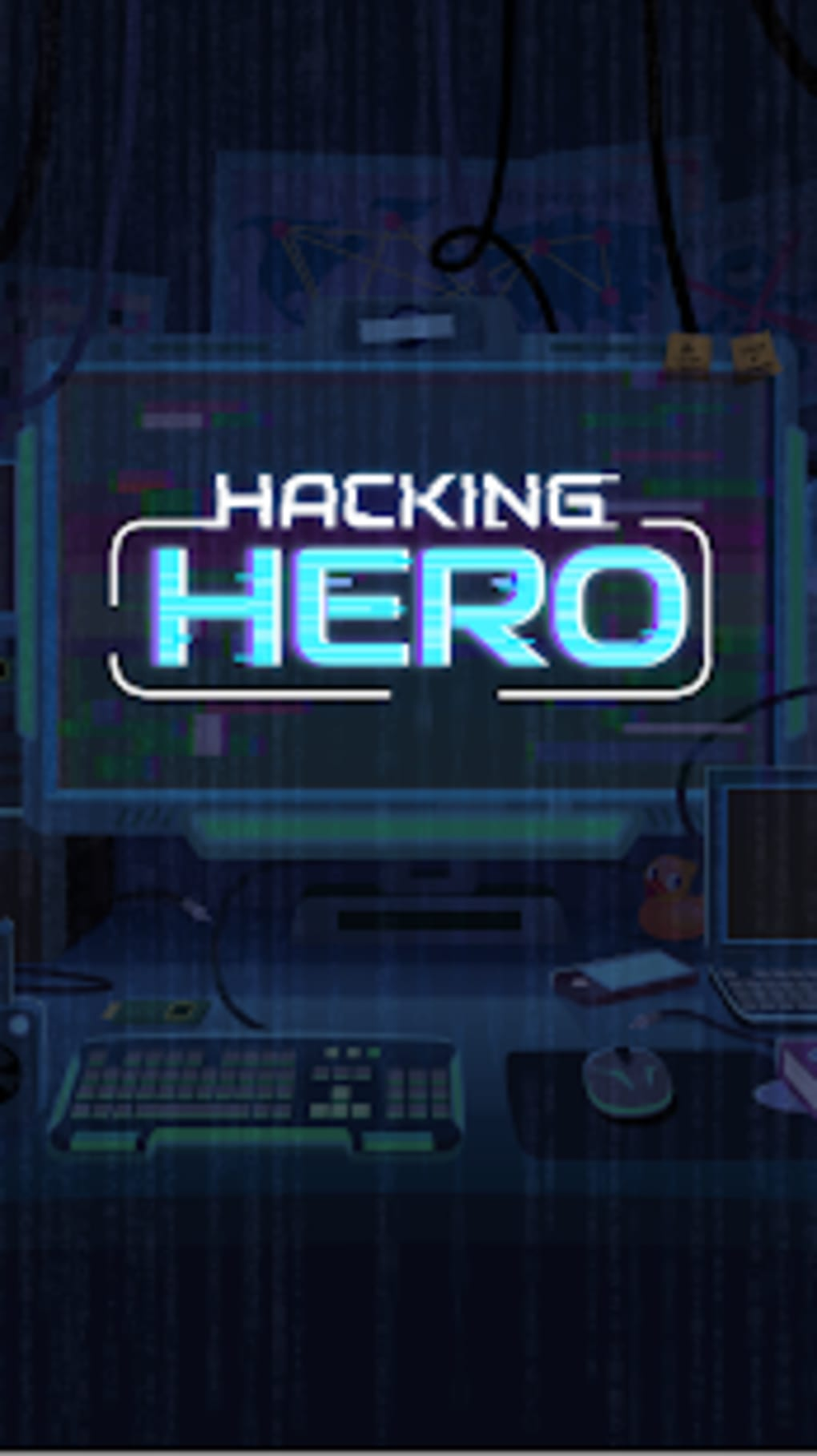 Hacking Hero Cyber Adventure Clicker for Android - Download