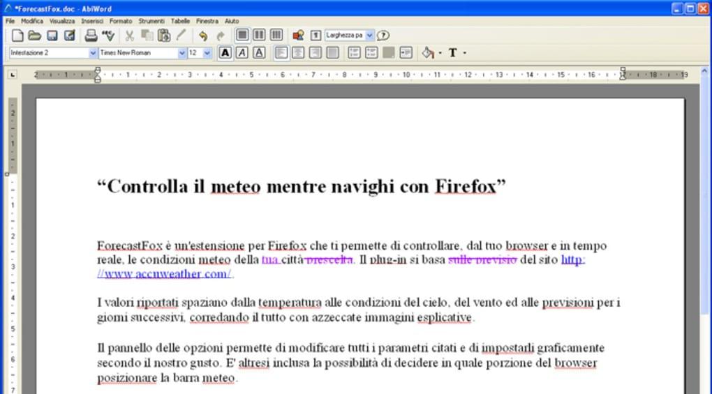abiword gratis italiano