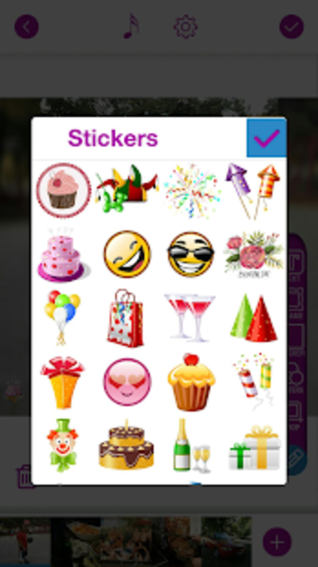 Happy Birthday Video Maker With Song And Photos for Android