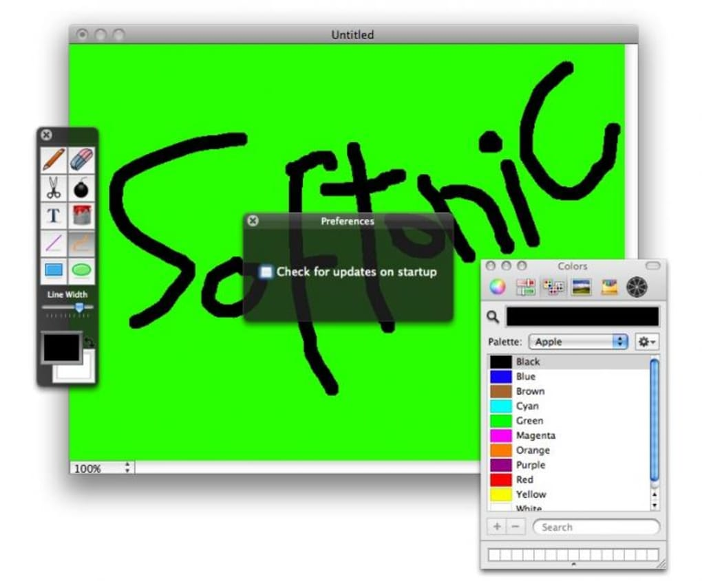 paintbrush mac gratuit