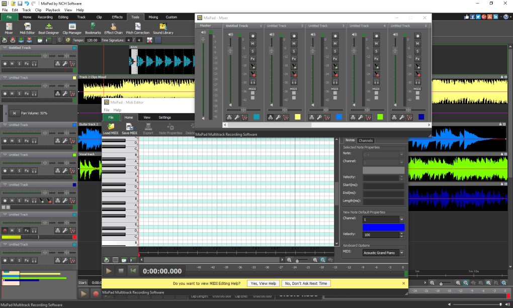Mixpad Multitrack Recording Software Download