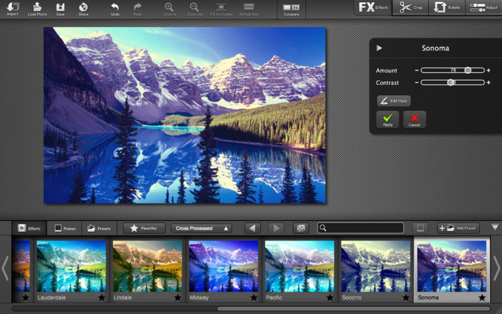 Fx Photo Studio Pro For Mac Download