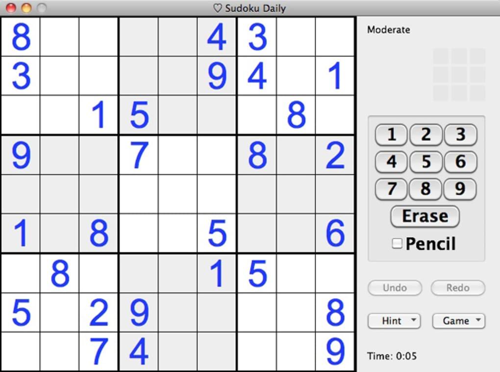 sudoku mac