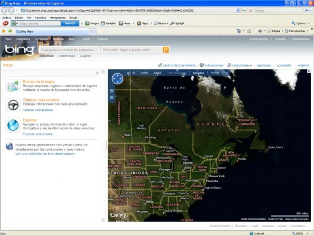 Bing! Maps 3D - Download on