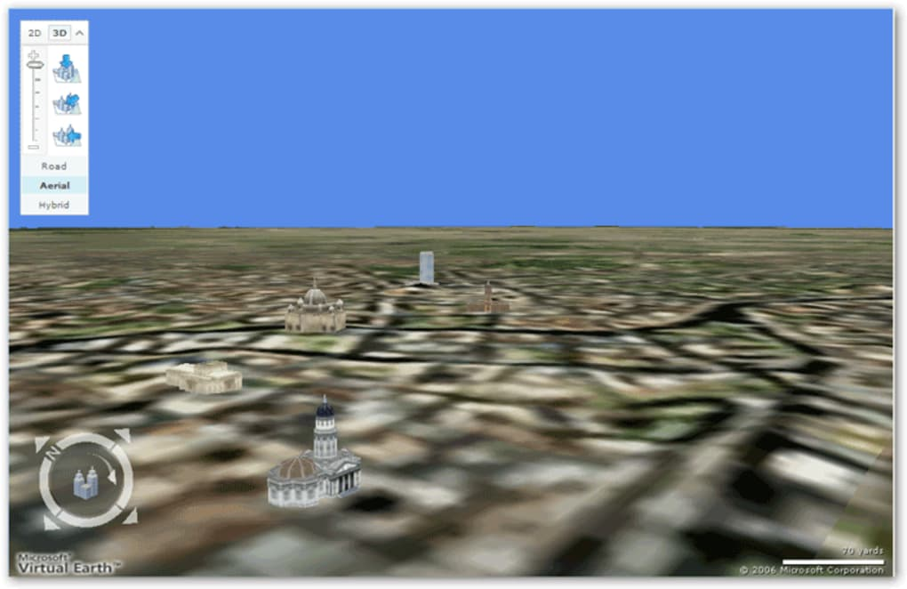 Bing Maps 3D (Virtual Earth 3D) - Download