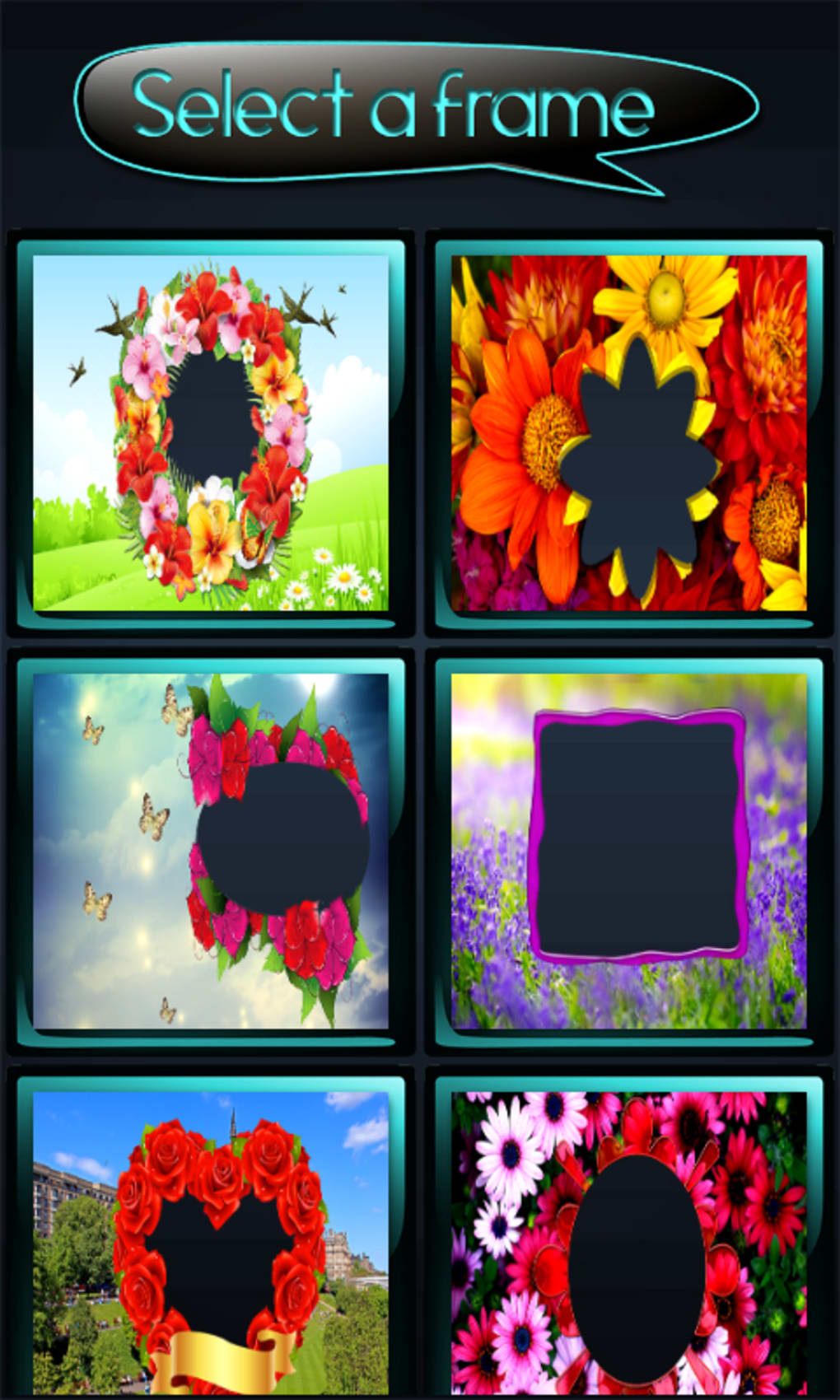 Flower Photo Frames For Android Download