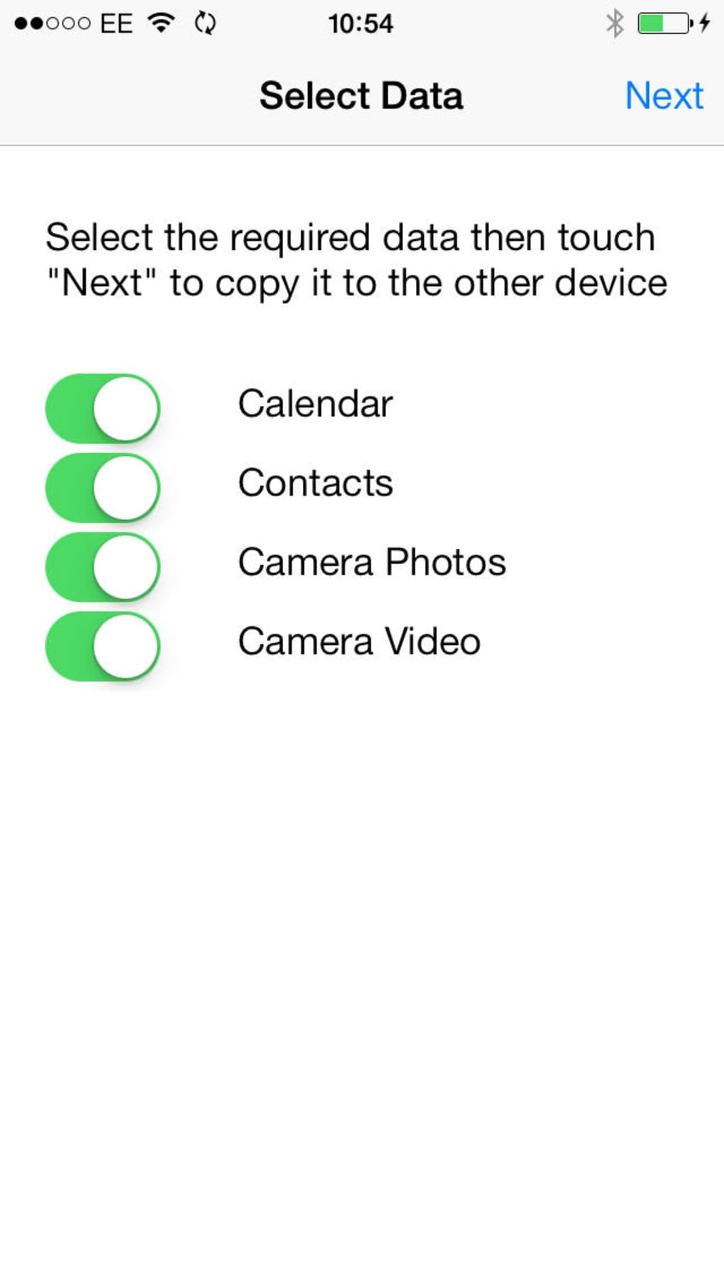 Copy My Data for iPhone - Download